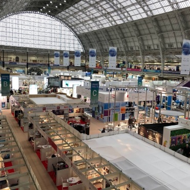 March: The London Book Fair, showcasing Thirteen and Underwater