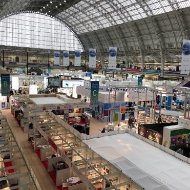 March: The London Book Fair, showcasing Thirteen and Underwater