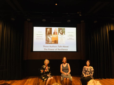 Author talk on Resilience at the Docklands Library with Co-Authors, Kelly Van Nelson and Danielle Aitken.