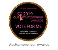Had the privilege of being nominated for the 2019 AusMumpreneur awards!