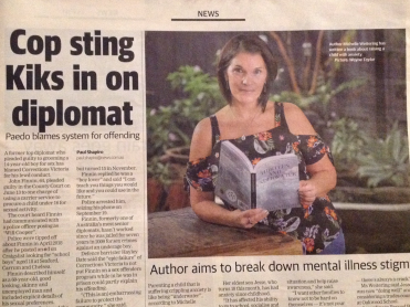 Thank you Frankston Standard for helping me spread the word in Anxiety