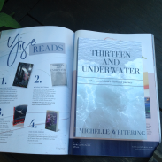 So thrilled to have Thirteen, featured in Ymag as a recommended read!